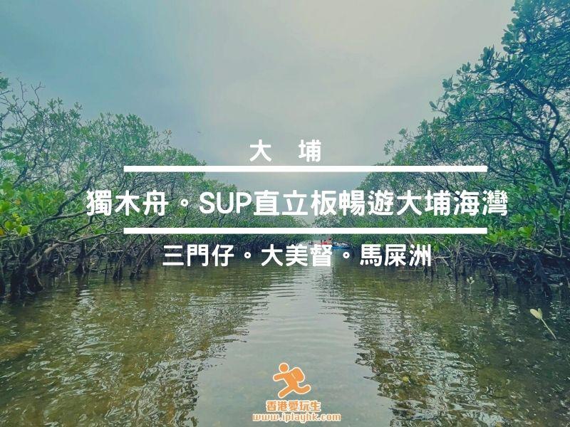[大埔] 三門仔出發~獨木舟遊大美督、馬屎洲紅樹林!(附租借連結)